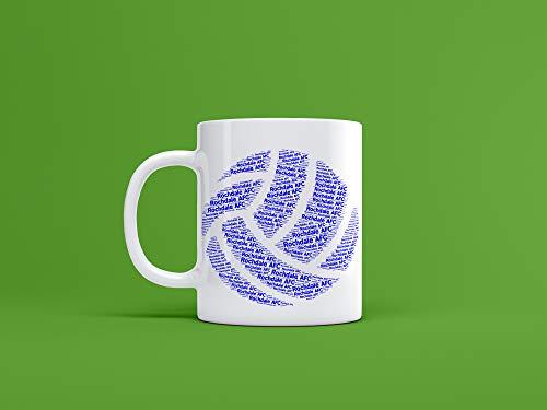 Rochdale FC Ceramic Ball Mug/Cup