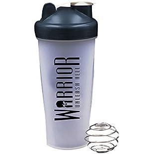Warrior Supplements 600 ml Capacity Blender and Shaker Bottle