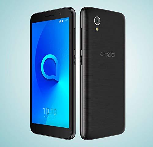 "Alcatel 1 - Smartphone de 5"" (Quad-Core 1.28 MT6739, RAM de 1 GB, memoria de 8 GB, cámara de 5 MP, Android 8.0 GO), Dorado"