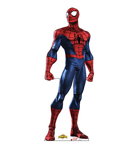 Advanced Graphics Spider-Man Life Size Cardboard Cutout Standup - Marvel: Contest of Champions