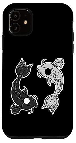 Boredkoalas Yin Yang Phone Case Iphone 11 Koi Fish Yin Yang Symbol Retro Balance Life Gift Case From Amazon Daily Mail