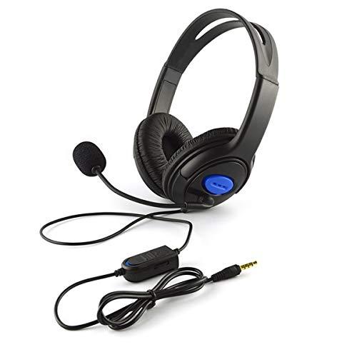 Bluetooth Hoofdtelefoon Professionele Hoofdtelefoon Headset Microfoon Volume Controle voor PS4 en PC