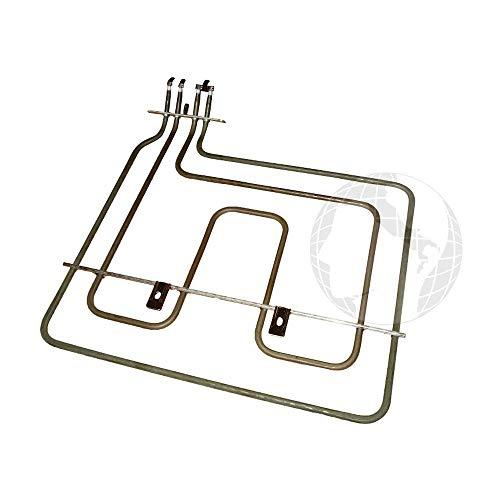 Resistencia superior para horno (ORIGINAL Beko) 1100 W-230 V código del recambio: 262900064
