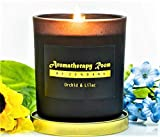 Aromatherapy Stress Relief Scented Soy Wax Candle - Natural Organic...