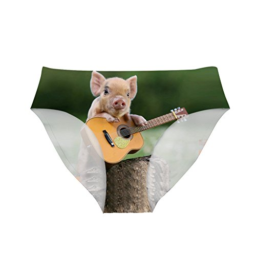 Nopersonality Comfort Printing Animal Panties voor Vrouwen Sexy Briefs Hipsters