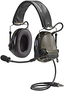 3M Peltor ComTac III Electronic Headset FB Single Comm NATO Olive Drab MT17H682FB-47 GN