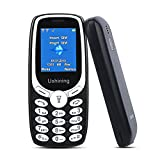 Teléfonos Móviles para Mayores con Teclas Grandes, Ukuu U181 Senior, Fácil de Usar Celular para Ancianos con Dual SIM - Negro [España]