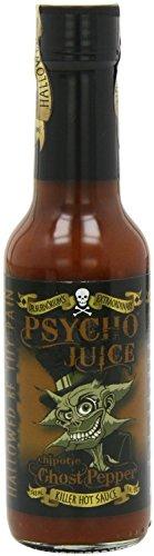 Psycho Juice Chipotle pimienta del fantasma salsa picante