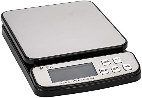 110 LB 50KG Digital Postal Scale Heavy Duty Stainless Steel Multifunctional Shipping Scale 0 product image