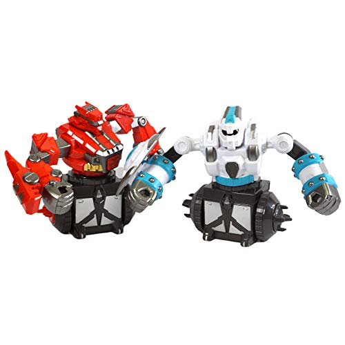 Scale Sports Remote Control Battle Boxing Robot Toys RC for 2 Players Multiplayer Combat Set Desktop Fighting 360 Degree Rotating Humanoid