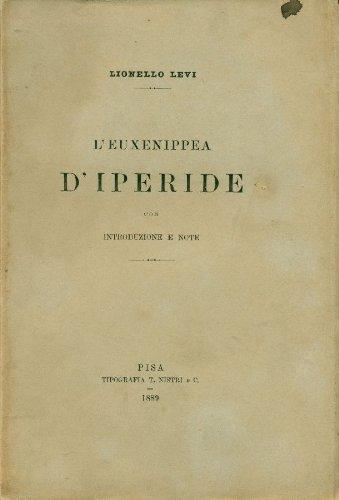 Le#39;Euxenippea de#39;Iperide
