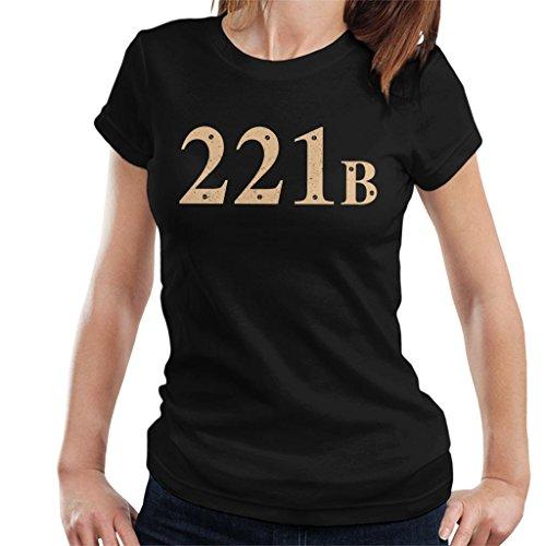 Cloud City 7 221B Baker Street Sherlock Holmes Address Women's T-Shirt