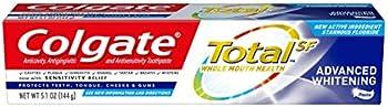 Colgate 5.1oz Total Whitening Toothpaste (Advanced Whitening)