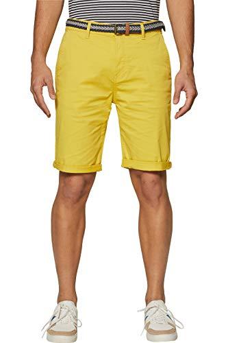 Pantalones cortos amarillos para hombre