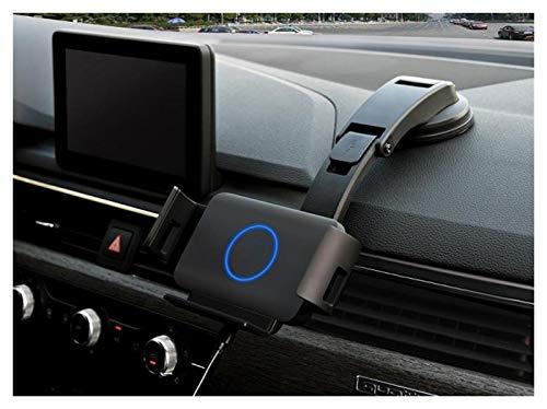 Phoenixset Coche Auto-apriete el Soporte del Soporte del teléfono (Color : Black)