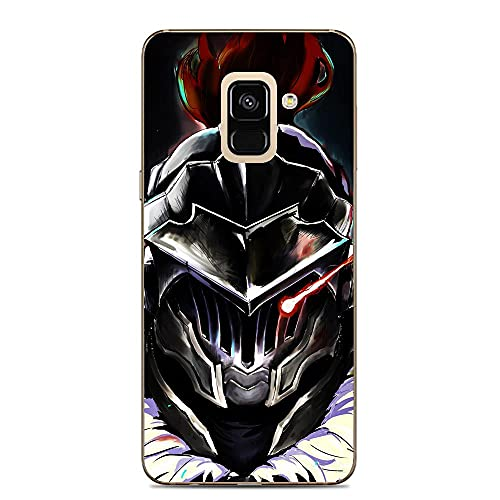 Ddftet Protect Clear Coque Soft TPU Wireless Charging Liquid Silicone Cover Case For Samsung Galaxy A6-Anime Goblin-Slayer 6