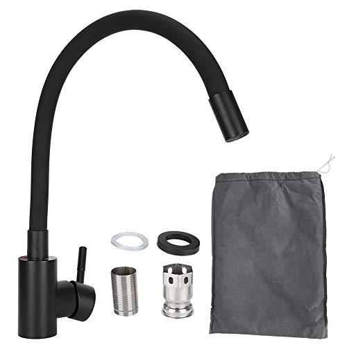 AMONIDA Küchenarmatur, Hochdruck erweicht hartes Wasser Wasserhahn, G1 / 2 Gewinde für Kitchen Hotel(#2)