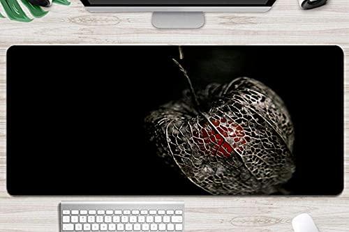 Alfombrilla de ratón y ratón para juegos de frutas rojas secas alfombrilla de ratón extragrande xxl 900x400 tapete de escritorio antideslizante impermeable