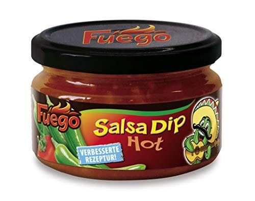 Fuego Salsa Dip hot, 4er Pack (4 x 200 ml)