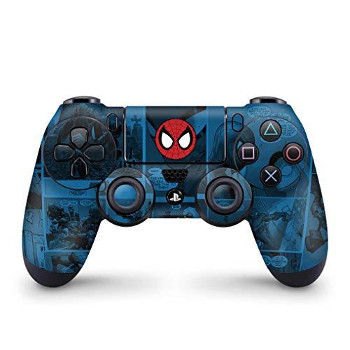 Skin Adesivo para PS4 Controle - Homem-Aranha Spider-Man Comics