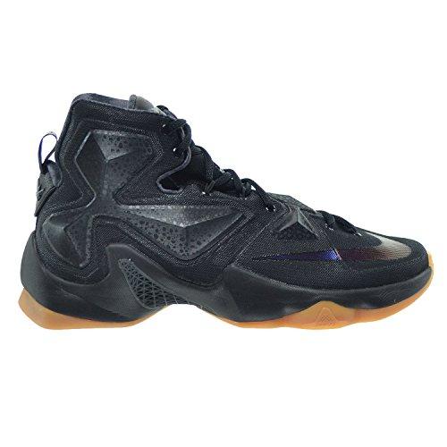 Nike Men's Lebron XIII Black Basketball Shoe - 10...
