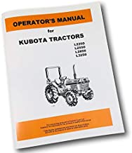 Best kubota l2250 owners manual Reviews