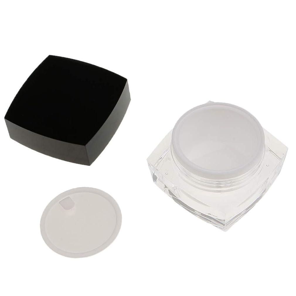 わずかに資格情報連邦perfk 化粧品容器 メイクアップ コスメ クリームジャー 小分け 2サイズ選べ - 30g