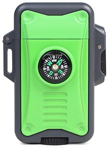 WINDMILL(ウインドミル) ターボライター BEEP8 内燃式 コンパス付き グリーン BE8-0006