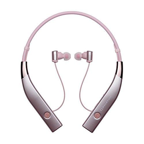 PHIATON BT 100 NC Wireless Active Noise Cancelling nekband oortelefoon met microfoon roze