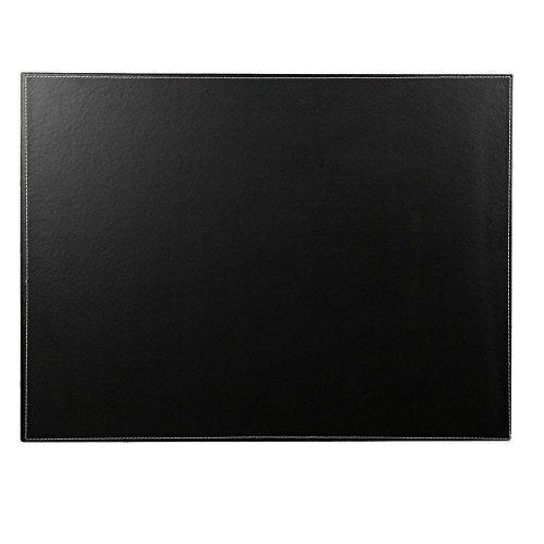 KINGFOM™ A3/A4 Hochwertig Kunstleder Schreibunterlage,60x45cm (Schwarz)