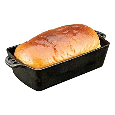 Camp Chef Home Seasoned Cast Iron Bread Pan