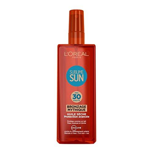 L'Oréal Paris Spray Huile Sèche Protection Solaire FPS 30