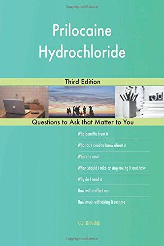 Prilocaine Hydrochloride; Third Edition