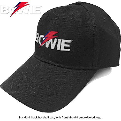 Cappello (Unisex-U) Aladdin Sane Bolt Logo (Nero)