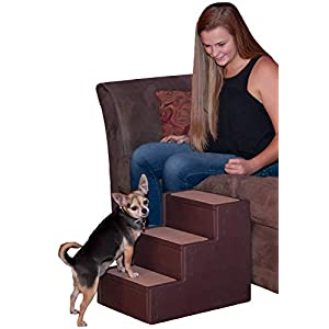 Pet Gear Pet Step with Stair Landing for Small Dogs, Miniatures, and Cats, for Pets up to 50 pounds