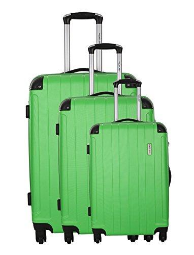 TravelOne Juego de maletas, verde (Verde) - 13731201VERT-3