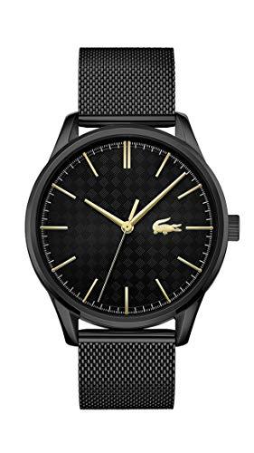 Lacoste Reloj Analógico para Hombre de Cuarzo con Correa en Acero Inoxidable 2011105
