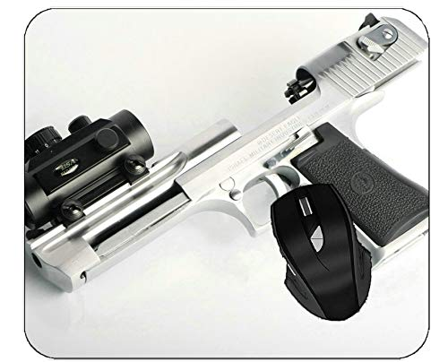 Gaming Mouse Pad Weapon Desert Eagle Silver Office Desk Mat