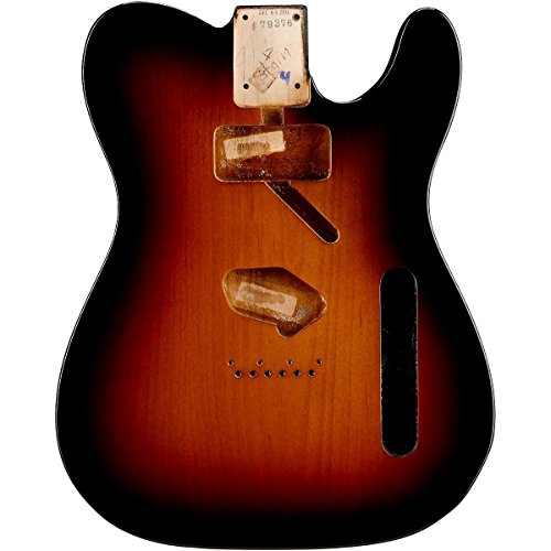 フェンダー Fender USA 純正パーツ 998005700 Telecaster SH Alder Body Vintage Bridge Mount, 3-Color Sunburst テレキャスター 塗装済み アルダーボディ SH配列 サンバースト ギター 交換用ボディ 『並行輸入品』