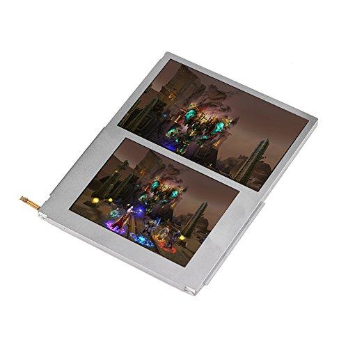 Socobeta Reemplazo de la Pantalla de visualización LCD Parte Superior e Inferior de la reparación de la Pantalla LCD Compatible con Nintendo 2DS