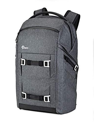 Lowepro FreeLine 350 AW Vielseitiger Tagesrucksack (designed für Reisen, Fotografen und Videografen, geeignet für DSLR, Spiegellose, CSC, Bridgekameras, Objektive, Laptop und Reiseausrüstung) grau