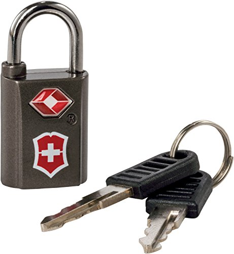 Victorinox Travel Sentry Approved Key Lock Set, Grey/Red Logo, One Size