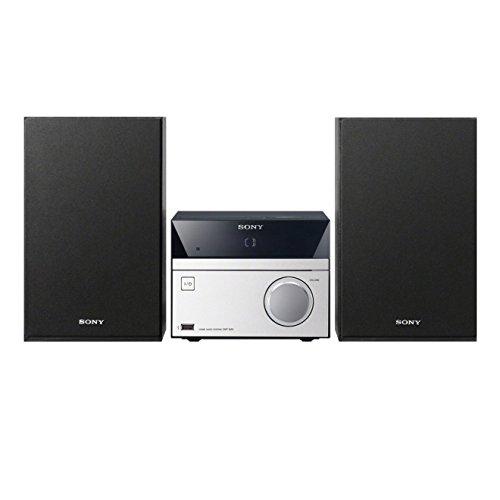 Sony CMT-S20 Mini-HiFi System (10 Watt, CD-Player, FM, USB) schwarz