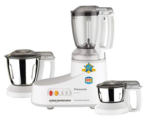 Panasonic MX-AC210 550W 2-Jar Blender Mixer Grinder, 220-volt (Not for...