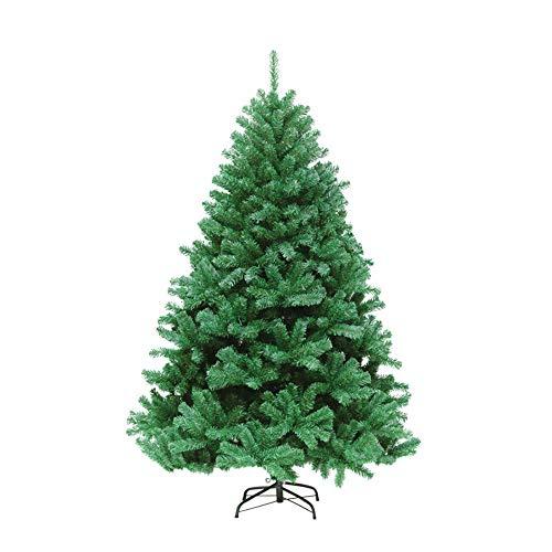 Preisvergleich Produktbild Fenweikj Albero di Natale,  Materiale in PVC + PP + Ferro,  le dimensioni possono Essere riutilizzate da 180 cm EIN 240 cm (180 cm) (Color : 240cm / 1250T)