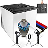 LimoStudio 16' x 16' Table Top Photo Photography Studio LED Lighting,...