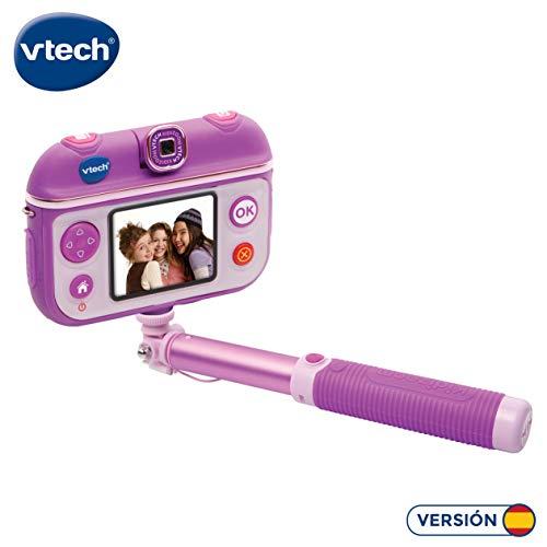 VTech- Kidizoom SelfieCam Cámara de Fotos, Color Morado, única (3480-193722)