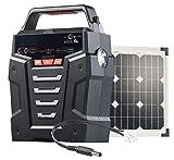 revolt Convertisseur Solaire & Batterie Nomade 75 Ah 230 V HSG-750 - avec Panneau 20 W