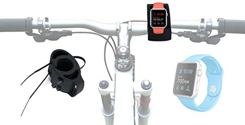 DURAGADGET Fantástico Soporte para Bicicletas Ideal para Smart Watch Apple