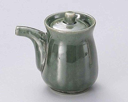 Buy Bargain Oribe 4.1inch Soy Sauce Dispenser Green Ceramic Made in Japan